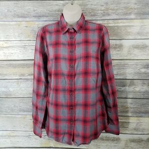 J. Crew button up top